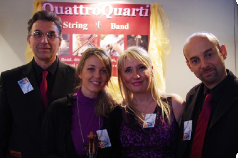 Valeria Burzi Quattro Quarti String Band
